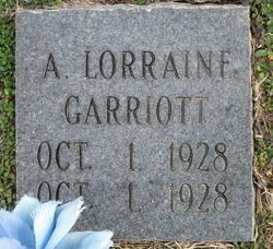 Alpha Lorraine Garriott