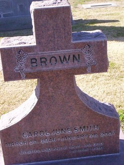 Carol June <i>Smith</i> Brown