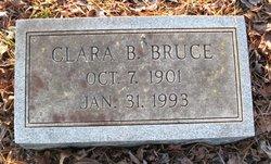 Clara B Bruce