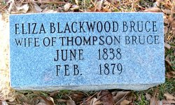 Eliza <i>Blackwood</i> Bruce