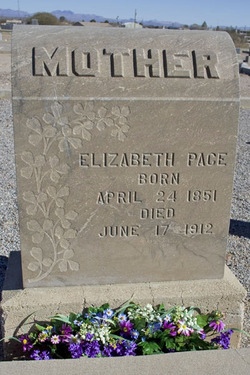 Elizabeth <i>Lee</i> Pace