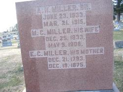 Elizabeth Catherine <i>Von Jacobs</i> Miller