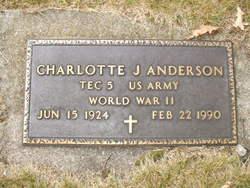 Charlotte J Anderson