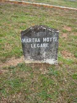Martha <i>Motte</i> Legare