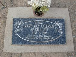 Mary Mae Anderson