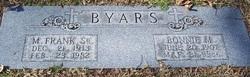 Bonnie M Byars