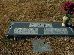 Edna <i>Woolfolk</i> Cocke