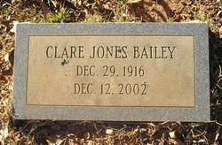 Clare <i>Jones</i> Bailey