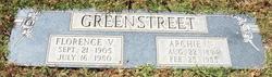 Archie N Greenstreet