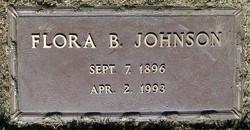 Flora Belle <i>Hughes</i> Johnson