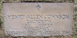 Henry Allen Johnson