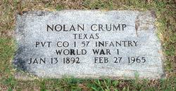 Pvt Nolan Boone Crump