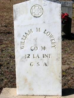 William M Lowery