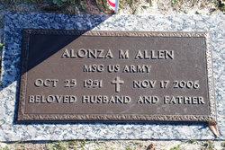Sgt Alonza M Rock Allen