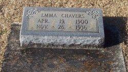 Emma <i>Oates</i> Chavers