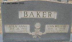 Lola Anna <i>Marion</i> Baker