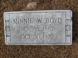 Minnie F. <i>Watkins</i> Boyd