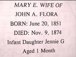Mary Elizabeth <i>Shults</i> Flora