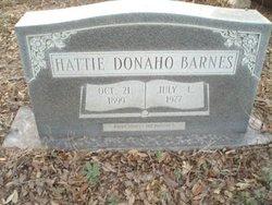 Hattie A <i>Donaho</i> Barnes