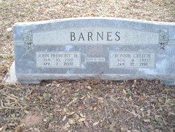 John Fremont Barnes, Jr
