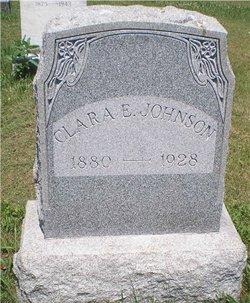 Clara E <i>Lofgren</i> Johnson