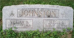 Jessie V Johnston
