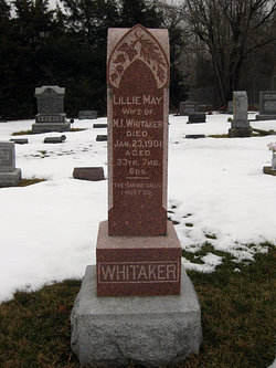 Lillie May <i>Pitman</i> Whitaker