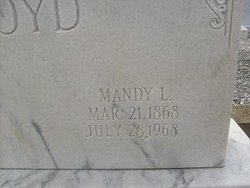 Amanda Louisa Mandy <i>McBurnett</i> Boyd