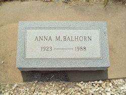 Anna M. <i>Brannon</i> Balhorn