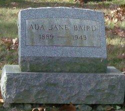 Ada Jane <i>Wachob</i> Baird