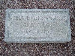 Rabun Eugene Ambrose
