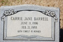 Carrie Jane <i>Shafer</i> Barrell