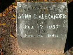 Anna <i>Cohen</i> Alexander