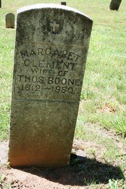 Margaret <i>Clement</i> Boone