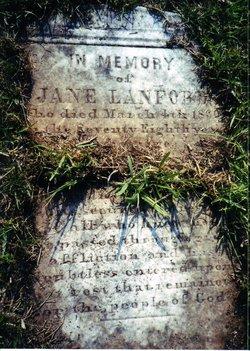 Jane <i>Leatherwood</i> Lanford