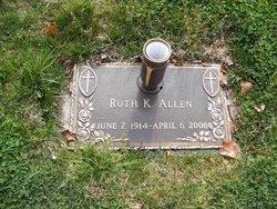 Ruth Katherine <i>Hill</i> Allen
