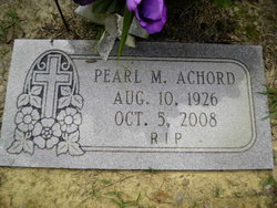 Pearl Pearly <i>Martin</i> Achord