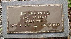 J V Branning