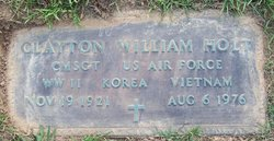 Clayton William Holt