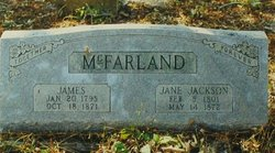 James M Jimmie McFarland