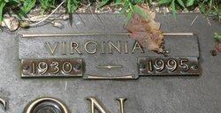 Virginia E <i>Milam</i> Anderson
