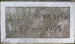Harry B Webber