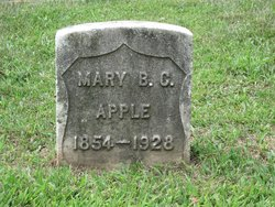 Mrs Mary B. C. Apple