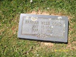 Hannah <i>Webb</i> Goad