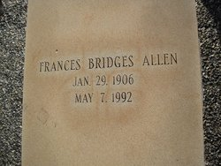 Frances <i>Bridges</i> Allen
