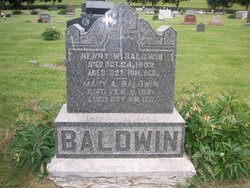 Mary Armantha <i>Hill</i> Baldwin