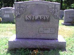 John J Speary