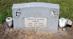 Ophelia <i>Burns</i> Wade