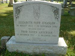 Elizabeth Farr <i>O'Hanlon</i> Andersen