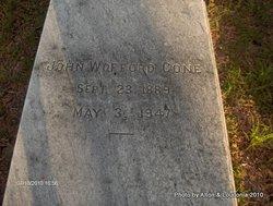 John Wofford Cone